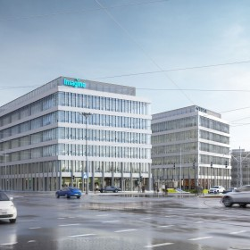 The Łódź Imagine office building welcomes its first tenants